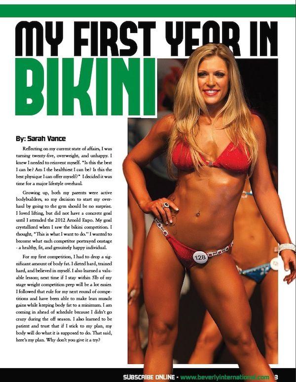 Hello bikini julie lohre