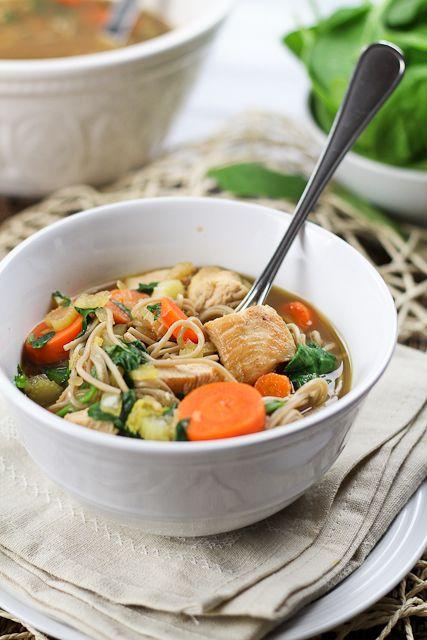Turkey Soba Noodle Soup | SOUPS & STEWS | Pinterest