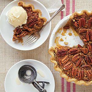 Maple-Bourbon Pecan Pie | CookingLight.com