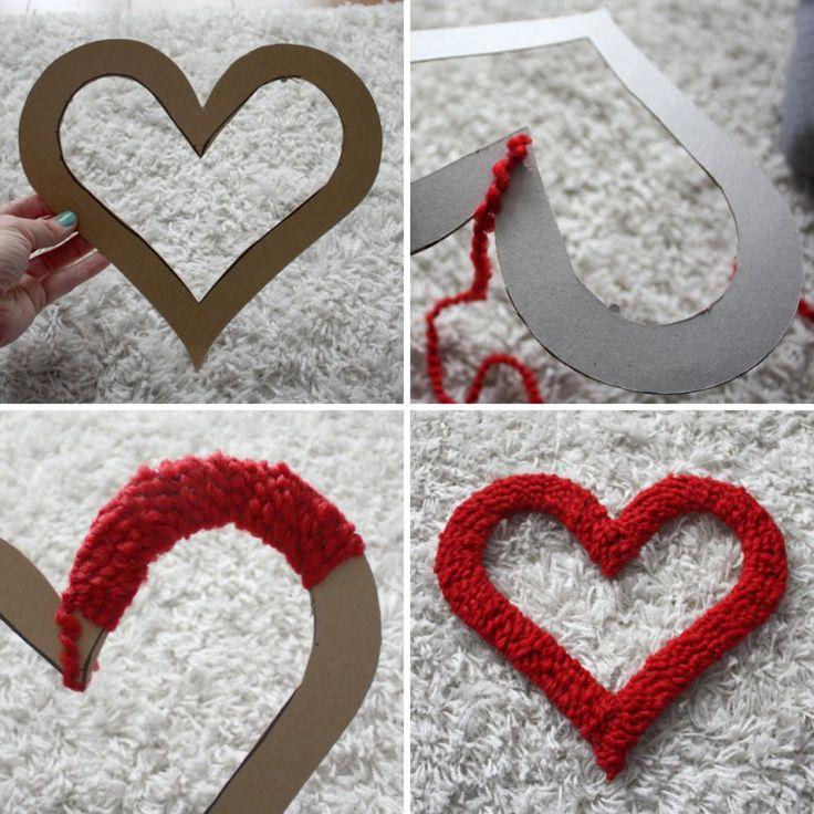 Сердце в сердце своими руками