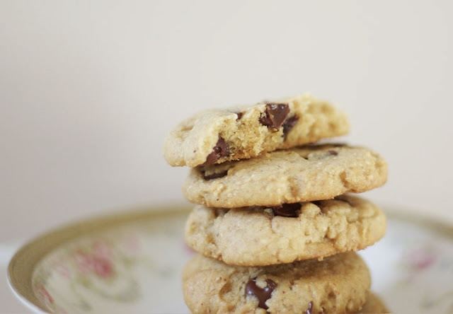 Hazelnut Butter Chocolate Chip Cookies | Food: Cookies With Chocolate ...