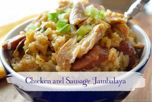 Chicken and Smoked Sausage Jambalaya   Recipes to Cook   Pinterest