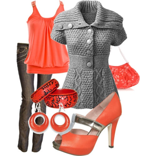 Gorgeous! I love the color! I love the shoes