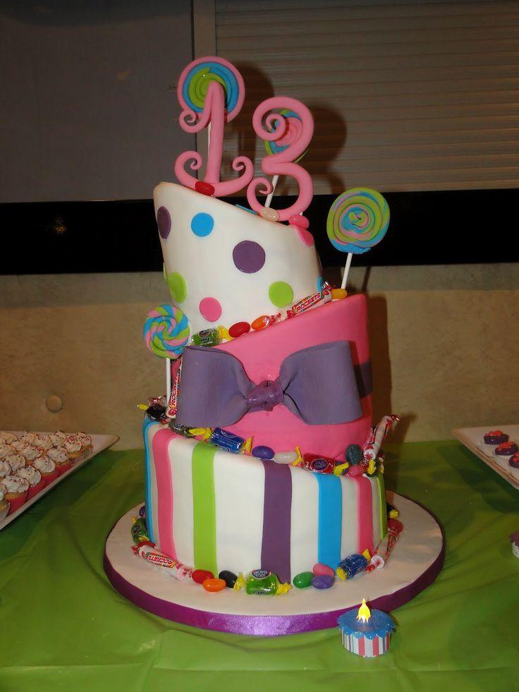 13th Birthday Cake Ideas For Girls 35447 | 13th Birthday Par