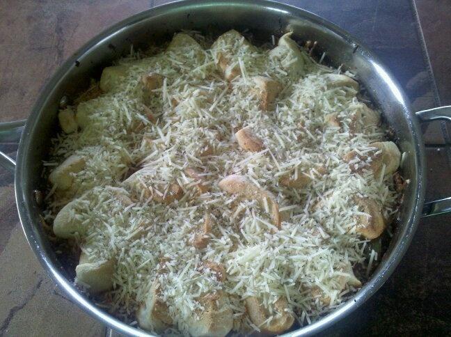 Italian Pot Pie | Savory | Pinterest