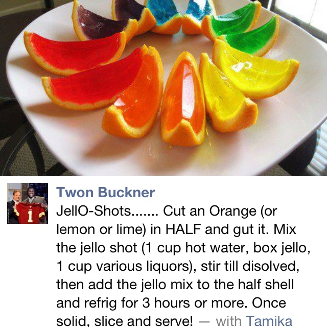 ... jelly shots ramos gin fizz jelly shots ocean butterbeer jelly shots