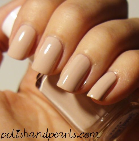 Essie 'Topless and Barefoot' LOVE nude nails and lipstick!!!!!!!!!!!!!!!!