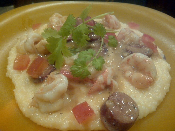 shrimp and grits with arugula shrimp and grits cakes maxie s shrimp ...