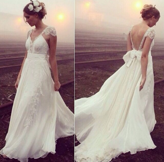 flowy beach wedding dress wedding love pinterest
