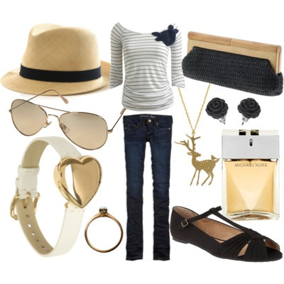 Great casual spring outfit