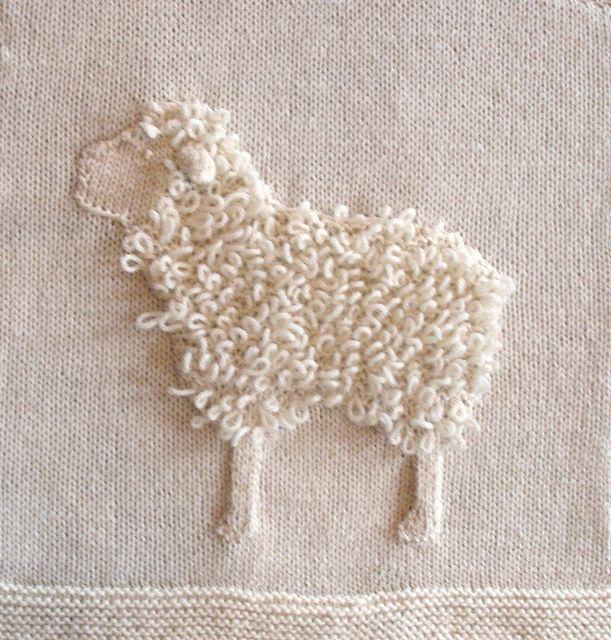Cross Knit Loop Stitch : Sheep -- Loop Stitch Crochet,knit Pinterest