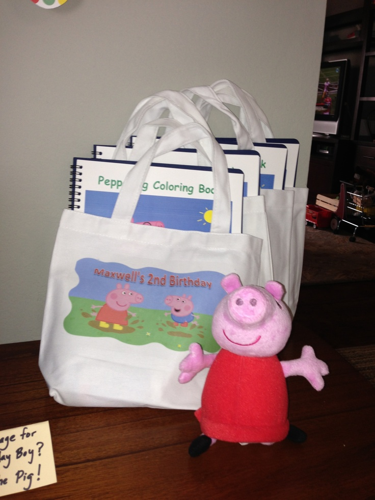peppa pig party favors party ideas   peppa pig pinterest