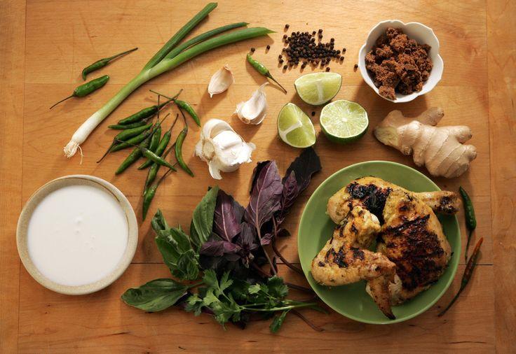 Thai coconut chicken | Recipe