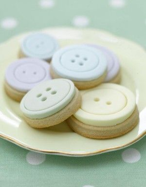 Button-Cookies
