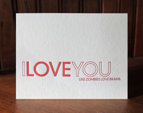 zombie valentines cards uk