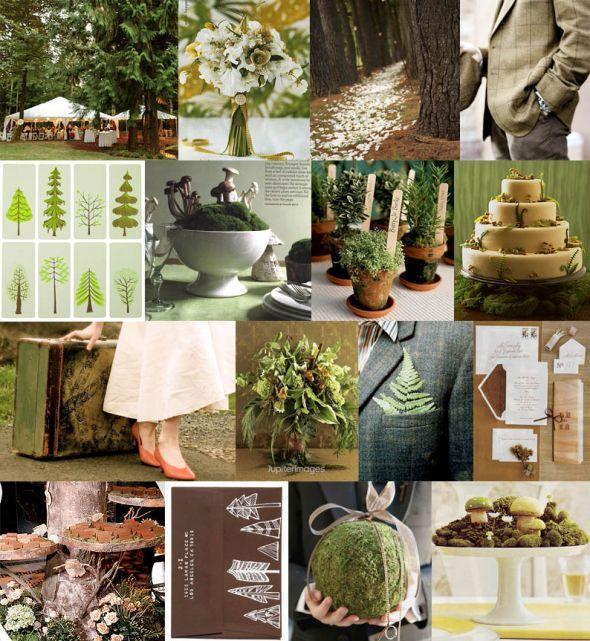 woodland vintage wedding theme woodland weddings pinterest
