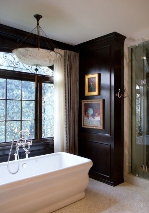 Black wall accents interior design pinterest for Black accent wall