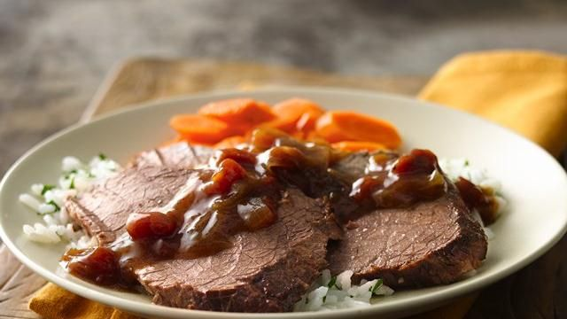 Crock Pot Tex-Mex Pot Roast (from Pillsbury)