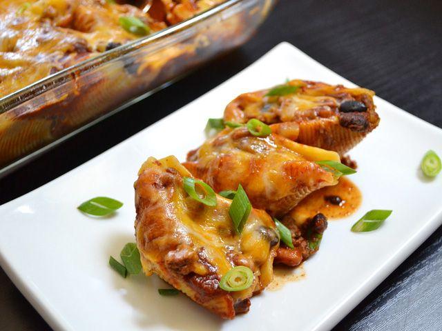 Taco stuffed shells | Recipe