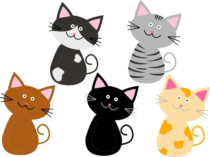 Worksheets For Cats Meow : Kitty bookmarks printables everyone likes something for