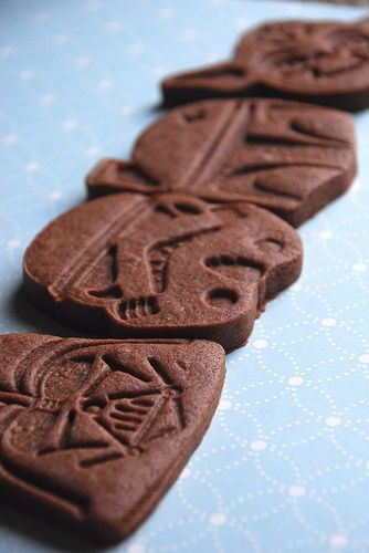 Star Wars Brownie Roll Out Cookies