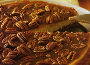 Pecan and Salt Caramel Cheesecake - Mine is cooling as I type this. I ...