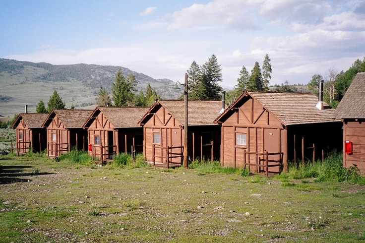 Roosevelt lodge cabins yellowstone national park for Log cabins in yellowstone national park