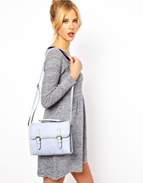 vegan bag in pastel blue from asos #vegan #veganbag