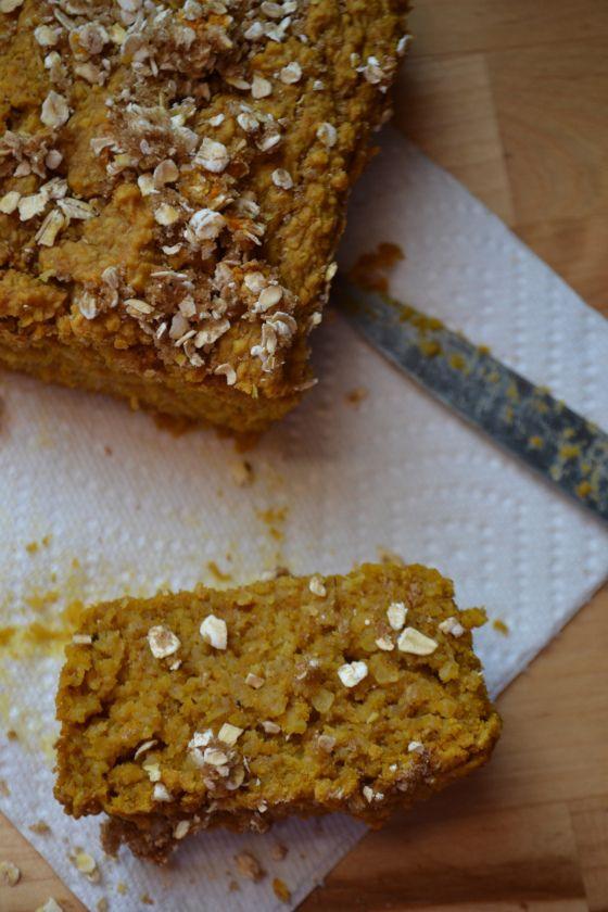 Pumpkin Oat Bread | Allergy-Free Bread | Pinterest