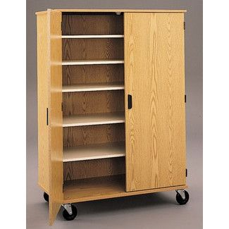 fleetwood encore storage cabinet casters 4 locking. Black Bedroom Furniture Sets. Home Design Ideas