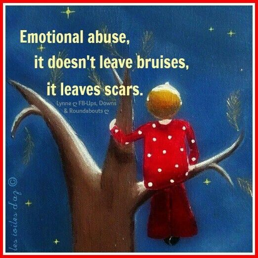 the emotional and psychological abuse in Most people know what physical abuse is, but when it comes to emotional abuse, people tend to think there's much more of a 'grey area' they might know it has.