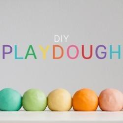 DIY Jell-O Playdough