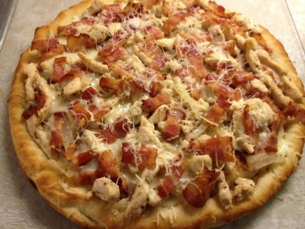 Grilled Chicken Flatbread Pizzas   Recipe