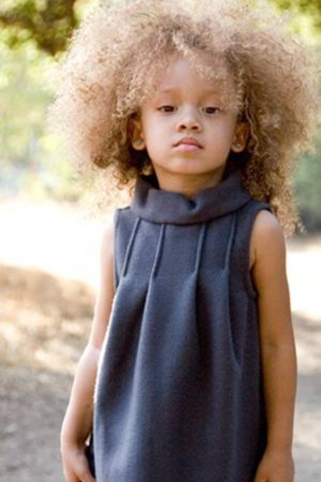 Biracial People With Natural Blonde Hair   67 best images