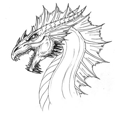 How To Draw A Dragon InspireFirst Time
