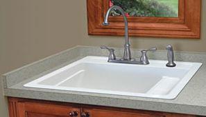 Basement Utility Sink : Utility Room Sink = Mustee #25 - Vector? Multi-Task Sink