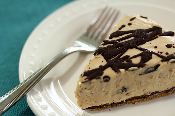 Creamy peanut Butter Pie - A Pie for Mikey