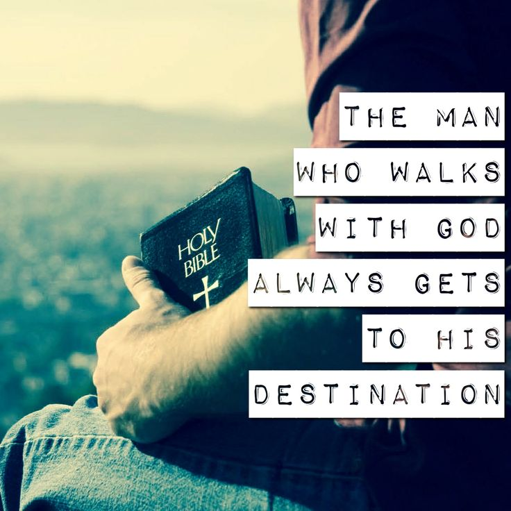 how to walk with god
