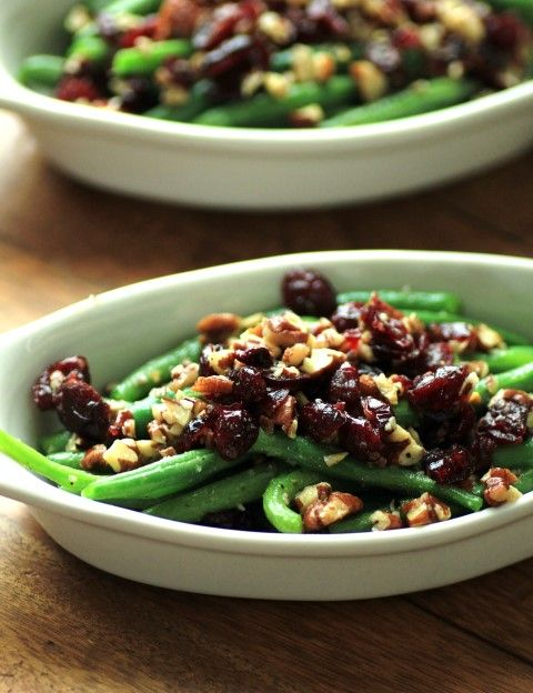 Green Beans with Pecans and Cranberries for #BeingThankful #SundaySup ...