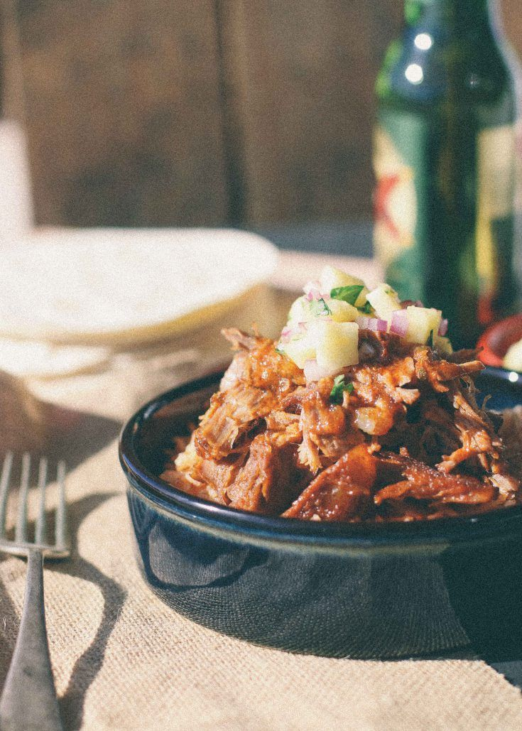 Pork carnitas - Slow cooked Mexican pork, perfect for tacos served ...
