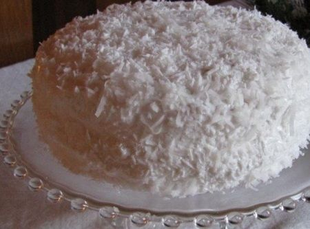 Coconut Angel Food Cake | Recipe