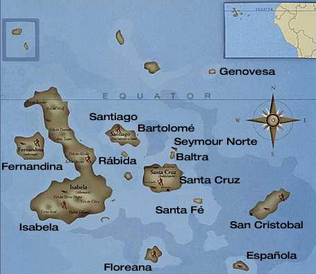 a geography of galapagos Human and cartographic history of the galapagos islands.