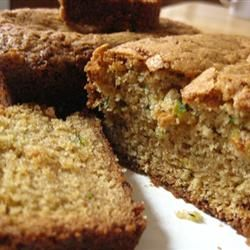 """Mom's Zucchini Bread   """"Very moist and good. I added a crumb topping ..."""