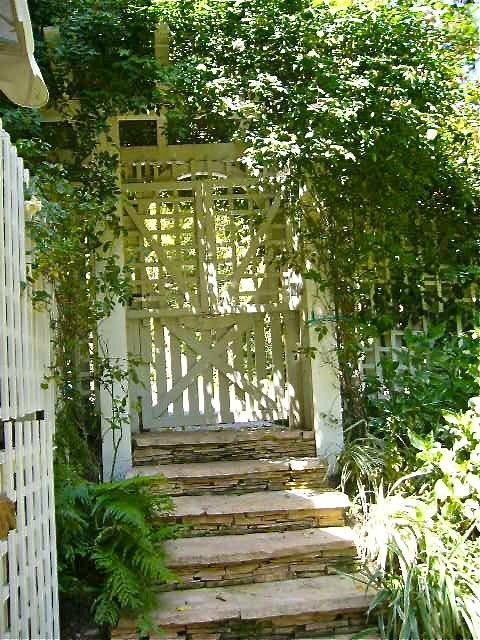 Garden Gate Doors Pinterest