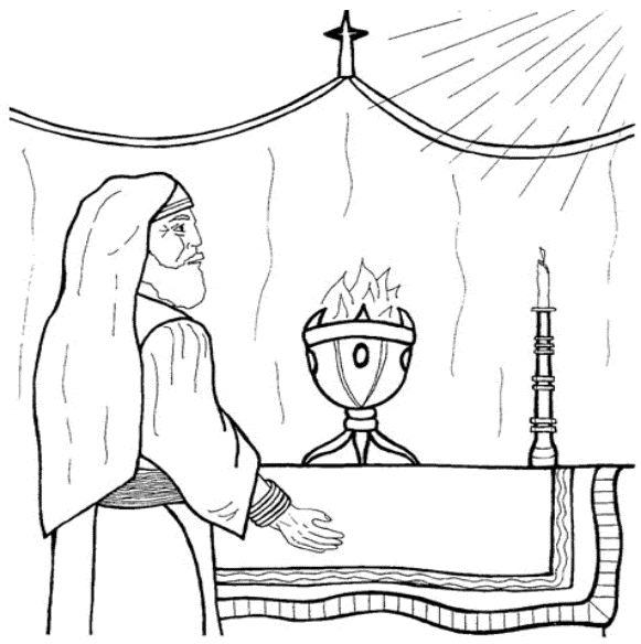 581 x 584 jpeg 44kB, Luke 1:5 | Advent Coloring Book Pages | Pinterest