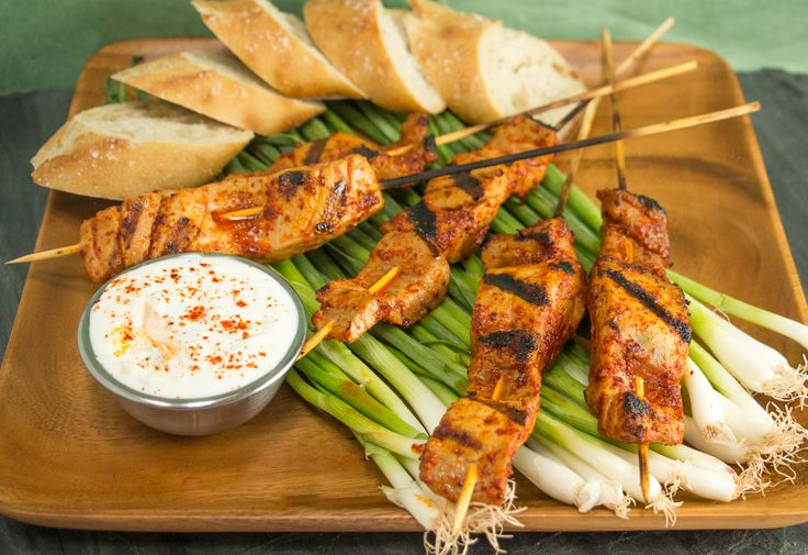 Grilled Tuna Kebabs in Piment d'Espelette