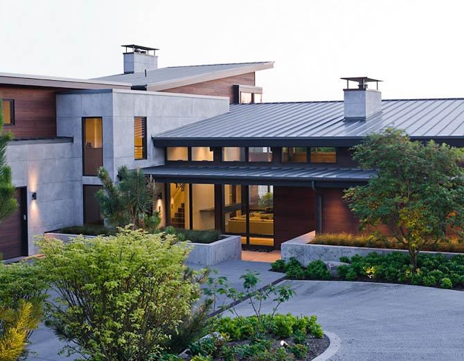 Open floor plan house wmodern materials plaashuis pinterest