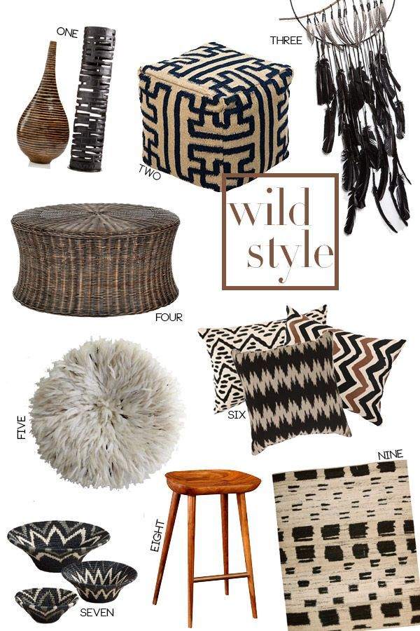 Wild style tribal and ethnic home decor casa de thomas for African tribal decoration
