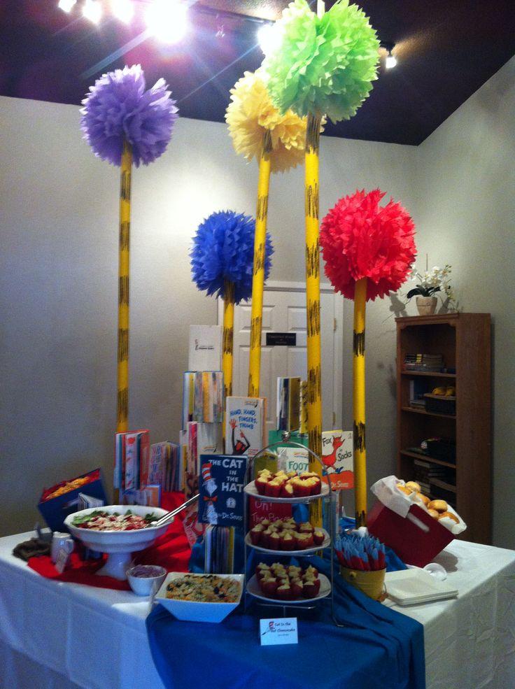 dr seuss theme baby shower decorations ideas pinterest