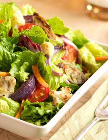 winter salad with roasted artichokes from fresh express recipes ...